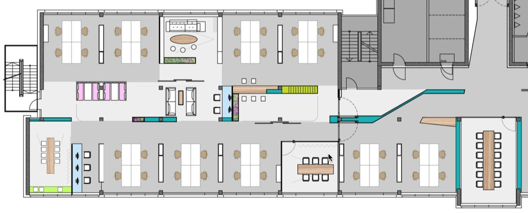 Genial Office Space Layout Design. Office Space For Teams    Floor Planning Layout  Design I