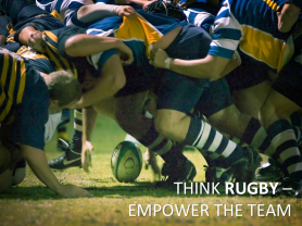 Lean Software Development -- Think Rugby -- Empower The Team