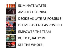 Lean Software Development -- The 7 Principles