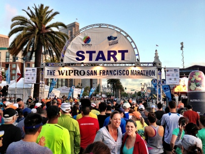 San Francisco Marathon 2013 -- Start Line