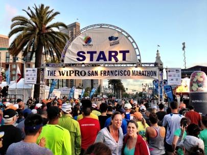 San Francisco Marathon 2013 -- Start Line