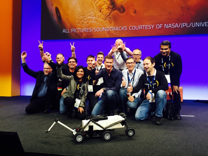 The Gang of TechEd 2015 Keynote, Barcelona